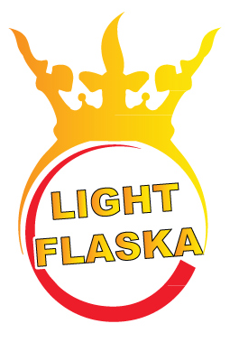 Logga Light flaska